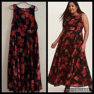 Torrid Rose Maxi Dress